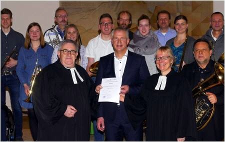 Ernennung zum Kantor Kirche Retzen