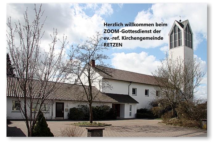 Zoom Gottesdienst in der Gemeinde Retzen 2021