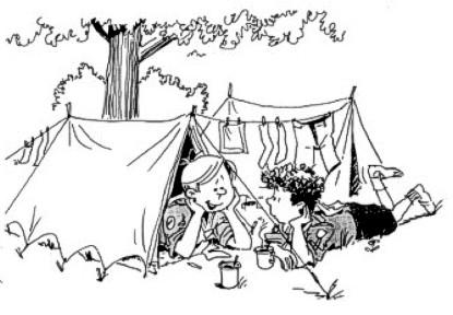 Kinder-Zeltlager Juli 2019