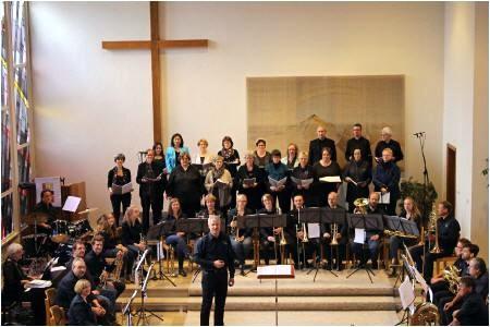 Posaunenchor und Projektchor Kirche Retzen